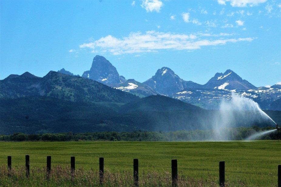 Teton Mountains - Idaho side