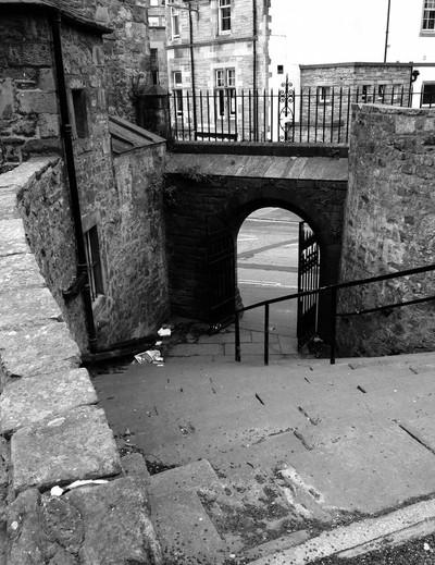 Edinburgh Cemetary - Access Stairs