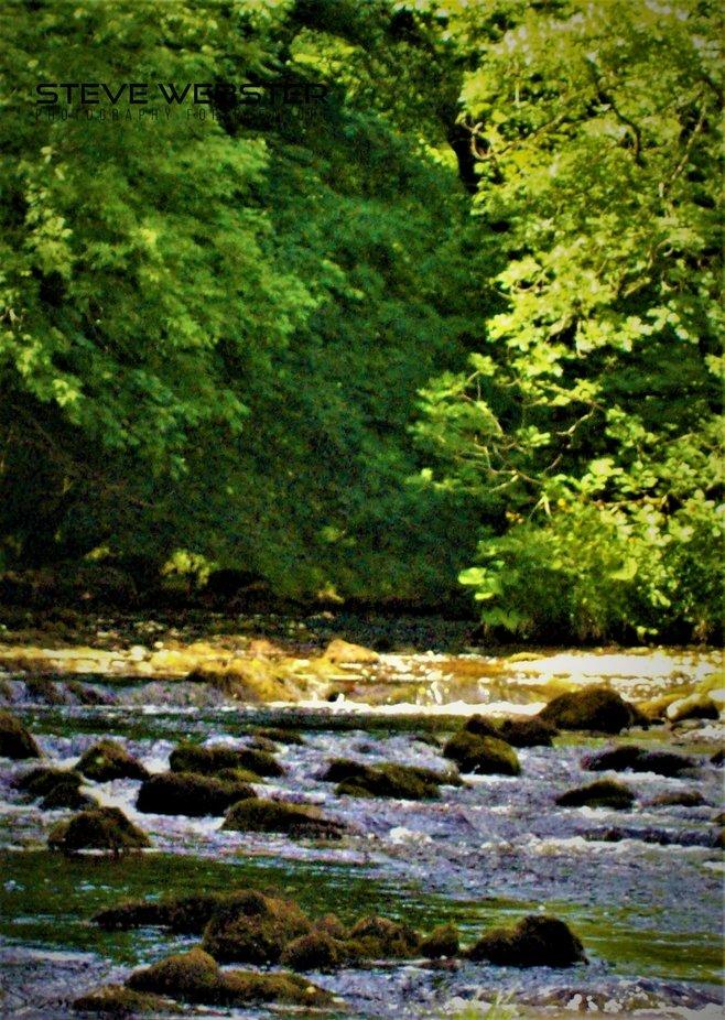 Bolton Abbey  Babbling Brook 2009.JPG