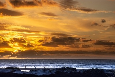 sunset beach ijmuiderslag