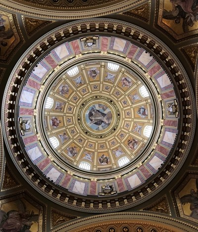 Cathedral Ceiling - Budapest