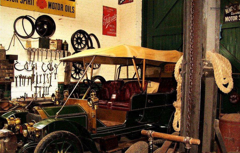 Beamish Garage 2012.JPG