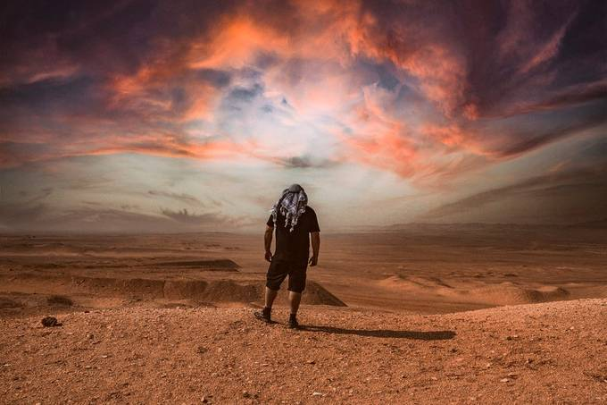 Saqqara Desert by Badjulha - Image Of The Month Photo Contest Vol 63