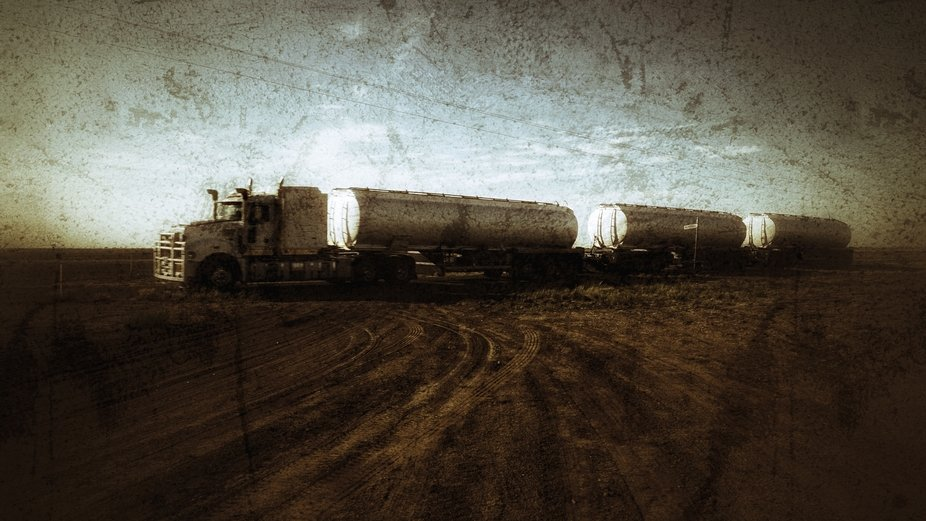 Road train of the West