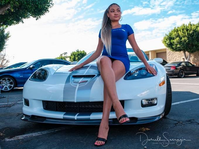 model Tiffany.  427 60th anniversary  Corvette