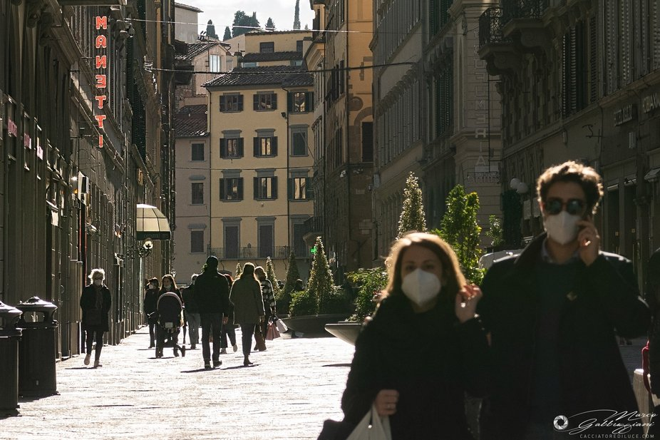 Covid street Christmas in Florence (4 of 5)