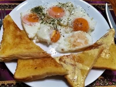 Aussie Breakfast, Eggs'n'Toast