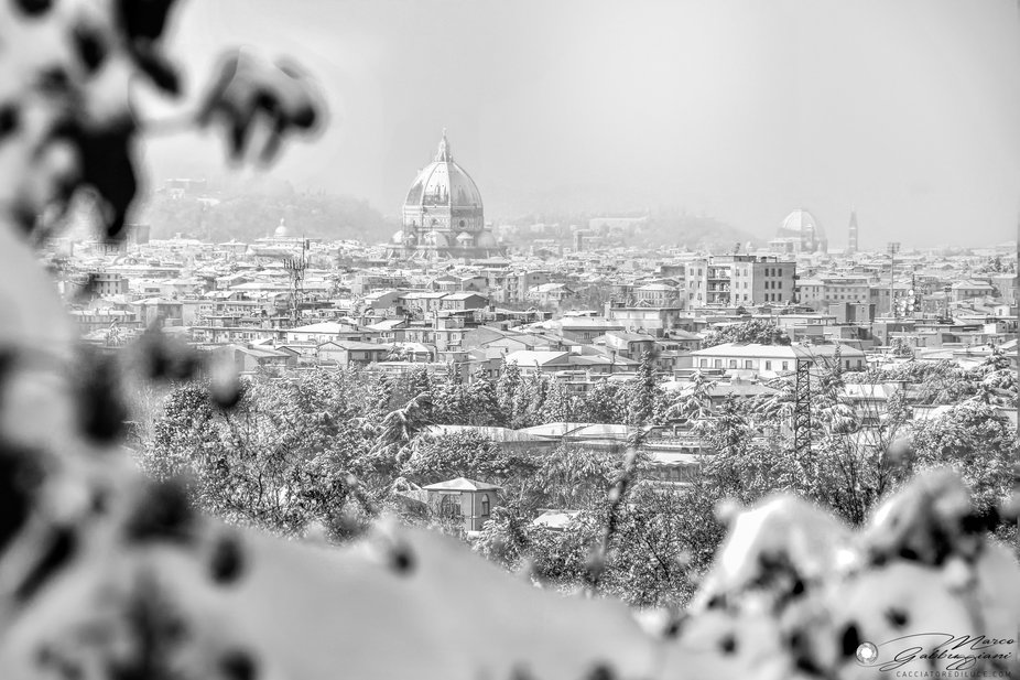 Florence today, 10 years ago