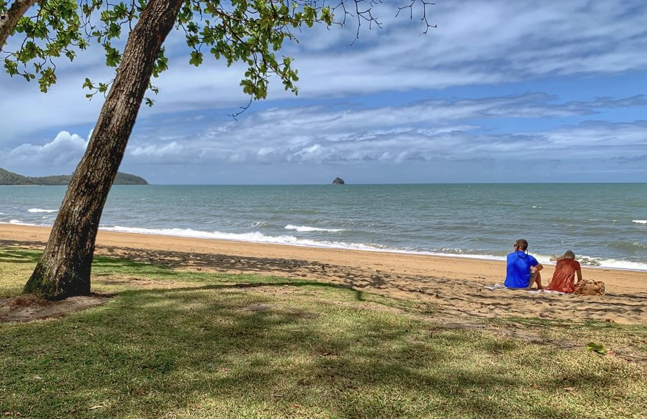 Palm Cove Beach, just north of Cairns, Queensland Australia