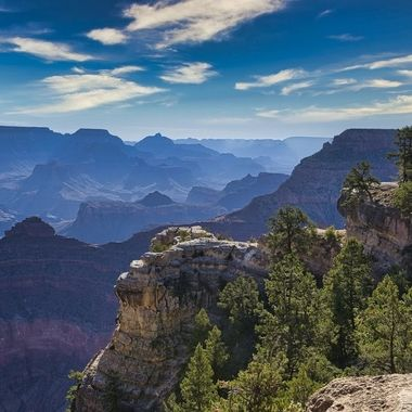 View in the Grand Canyon