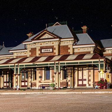 Mudgee Station 1884