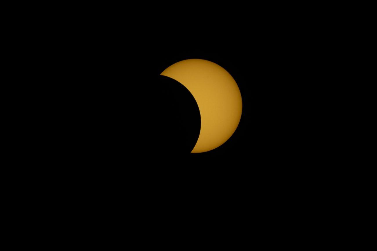 Eclipse Solar 2020, 43% a las 12:51 hrs