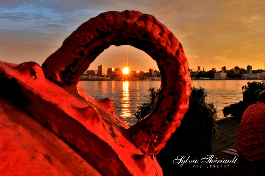 Sunset and Buoy Hoop