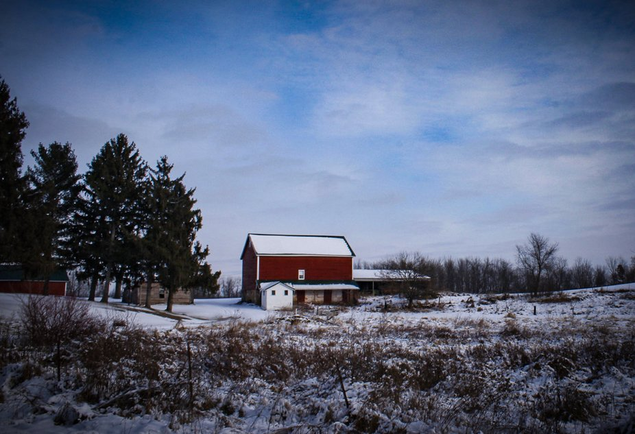 So many beautiful barns to photograph