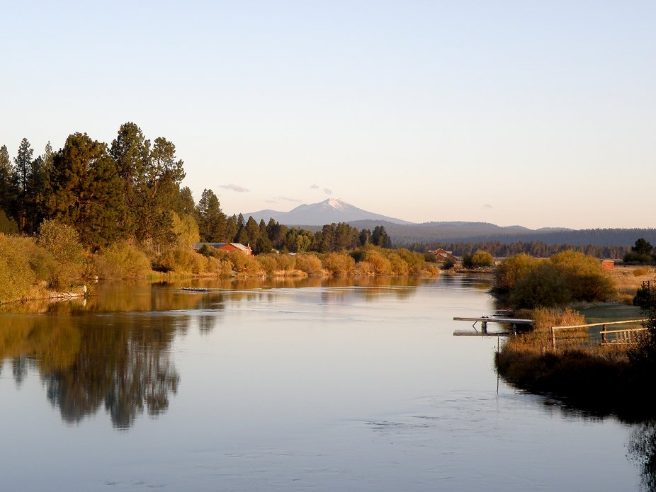 I gathered this image of the Williamson River in October of 2008. I cross  the Williamson on my w...