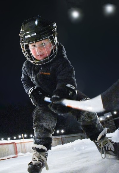 PLAYING ON HOME ICE