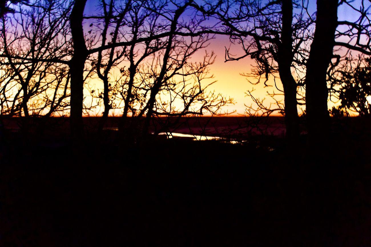 Sunrise in Southeast Oklahoma near Atwood.