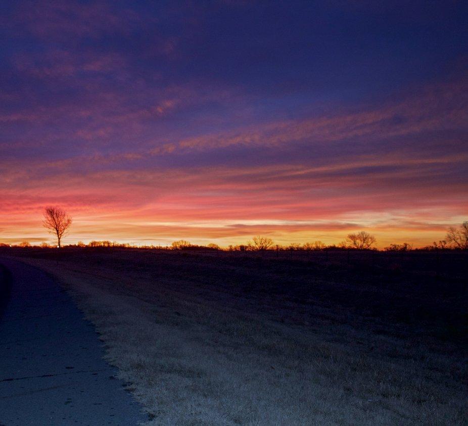 Southeastern Oklahoma Sunrise