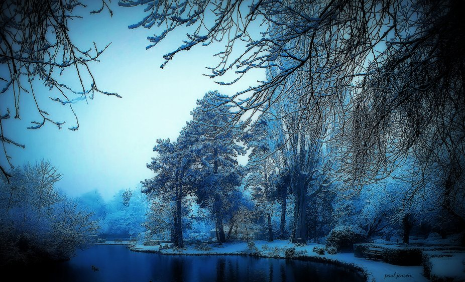 Visions of Winters past when the world seemed a lot less volatile.