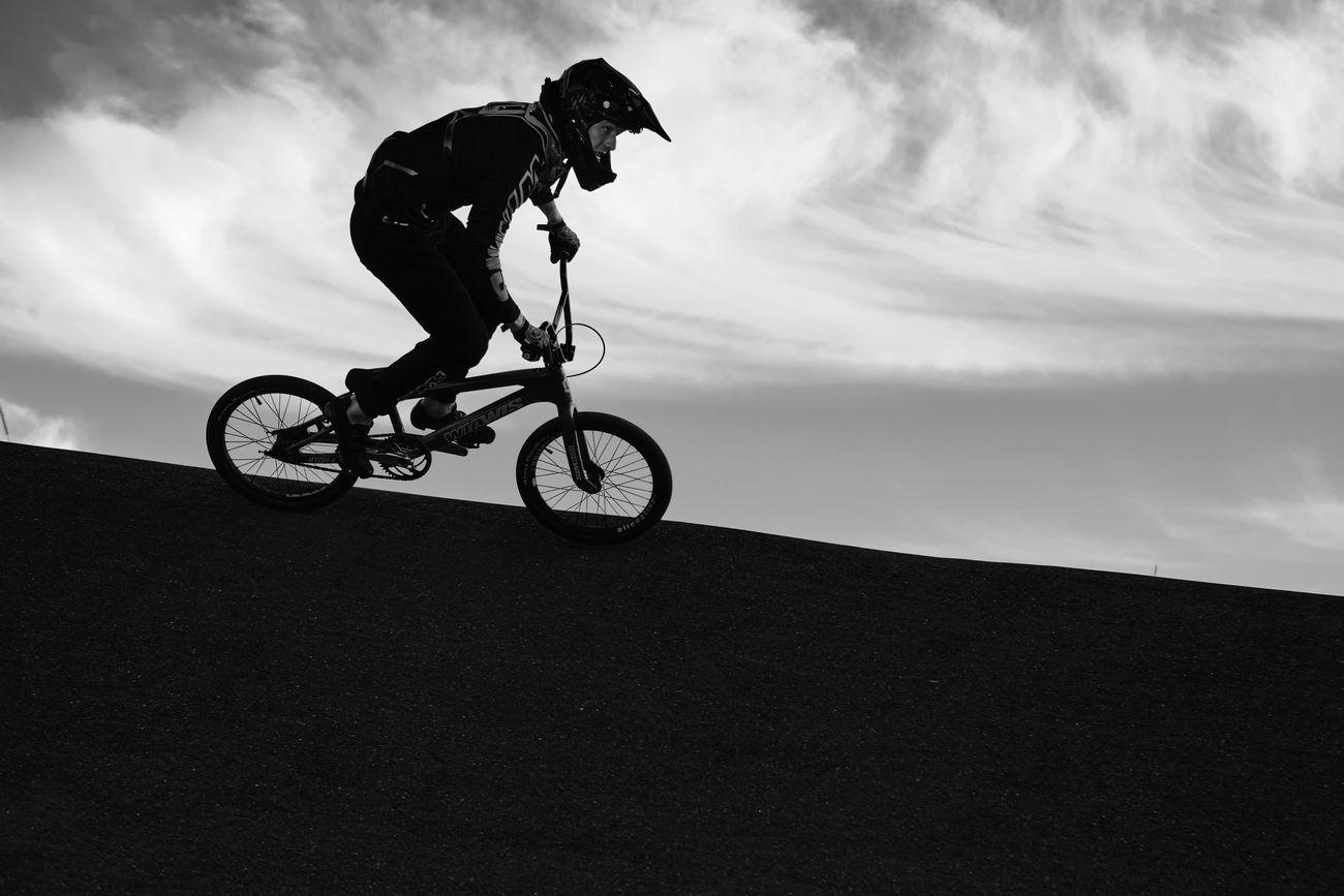 BMX at dusk