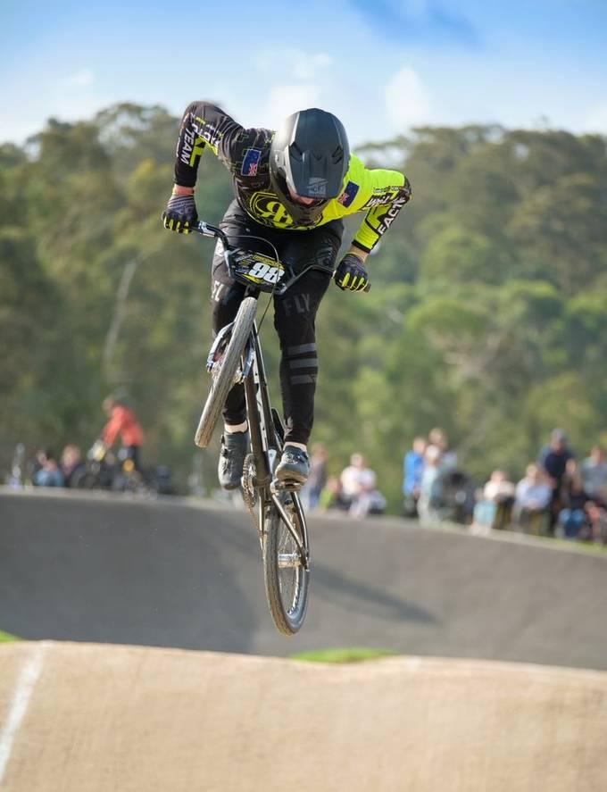 Track Attack at Park Orchards BMX club Australia.