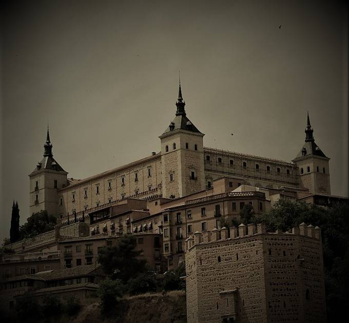 Castle at Toledo, Spain