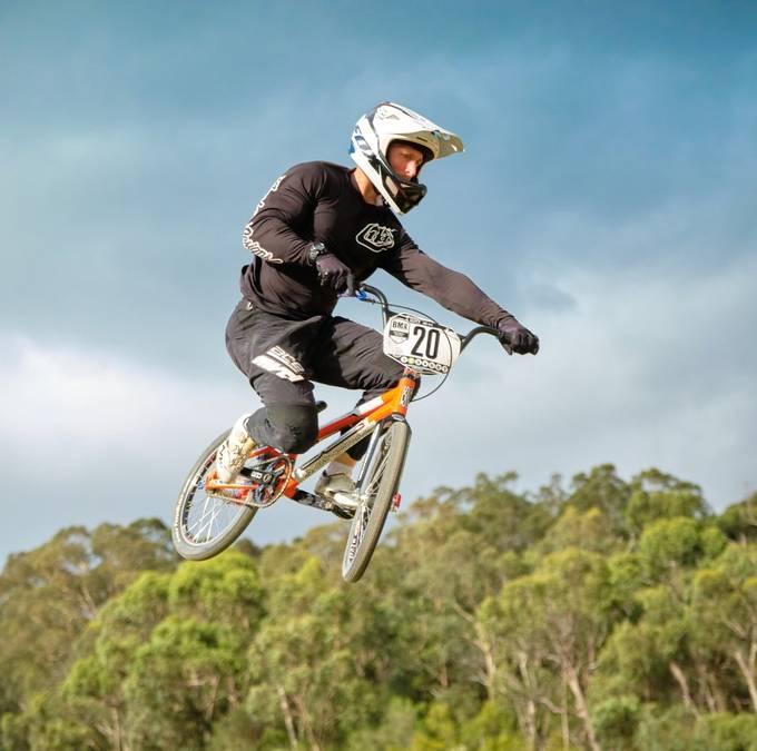 BMX racing at Park Orchards BMX Club Australia