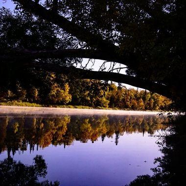 Fall Morning Reflections