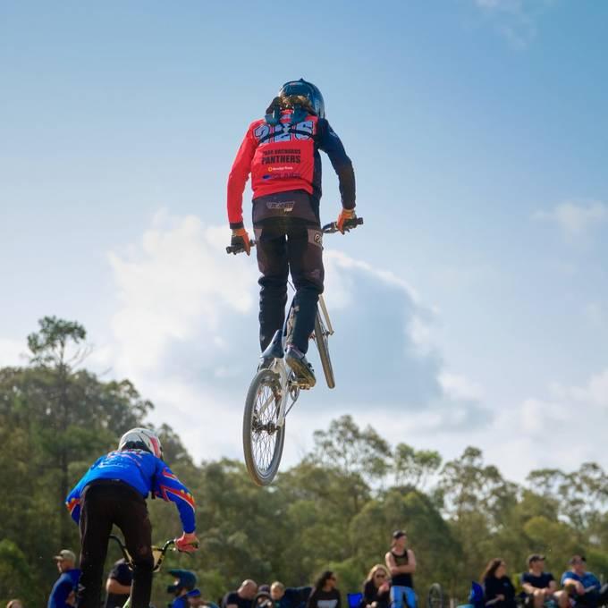 Racing at Park Orchards BMX Club Australia