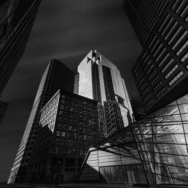 Buildings and Atrium