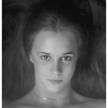 Trudy Portrait - B&W