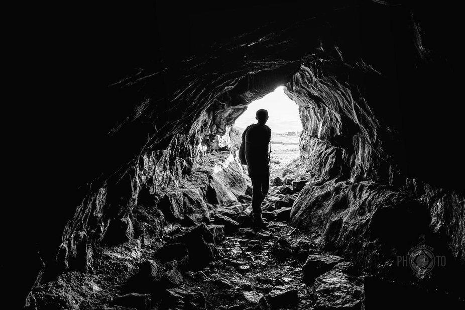 The explorer. #sonya7 #sonyuk #caves #cave #yorkshire #yorkshiredalesnationalpark #northyorkshire...