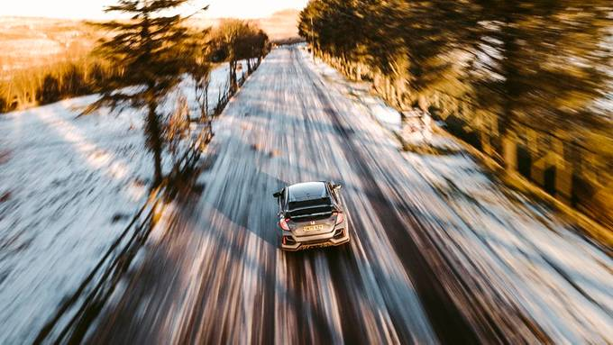 Winter Drive! by EoinDiamond93 - The Art Of Panning Photo Contest