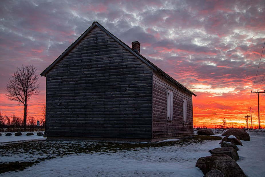 On a recent trip to Barrie we drove out to seek out this National National historic site. This ch...