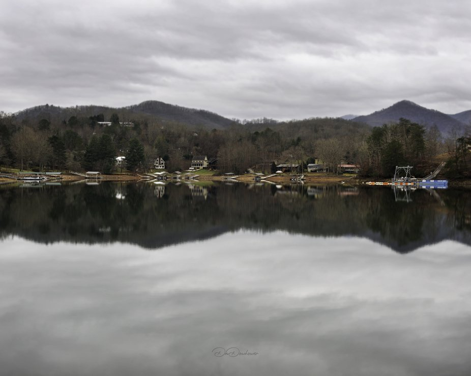 Chatuge Lake looking like glass!