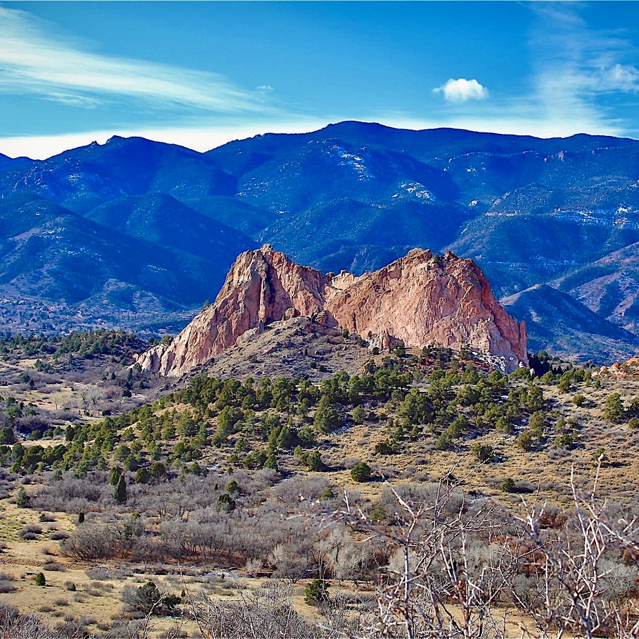 Garden of the Gods near Colorado Springs Colorado