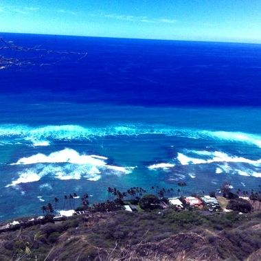 Hawaii below beautiful shot made by my field photographer Lenore S.
