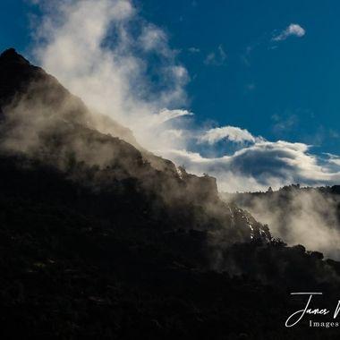 Mountain Silhouette