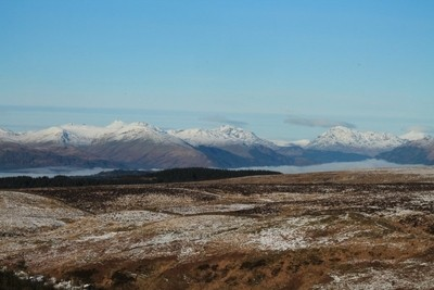 looking to southern uplands