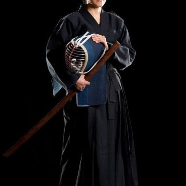 Kendo shoot with martial artist Dao van Hattum