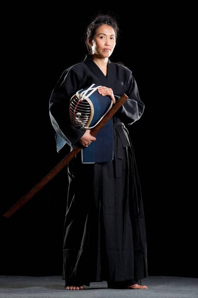 Kendo shoot with martial artist Dao van Hattum