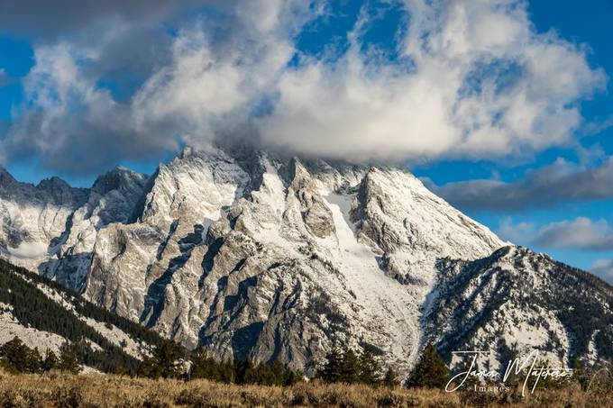 Winter Landscape Grand Tetons 5