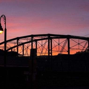 Zorilla St. Bridge Clifton, AZ.