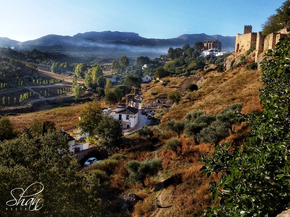 Ronda Spain beautiful welcome to the day