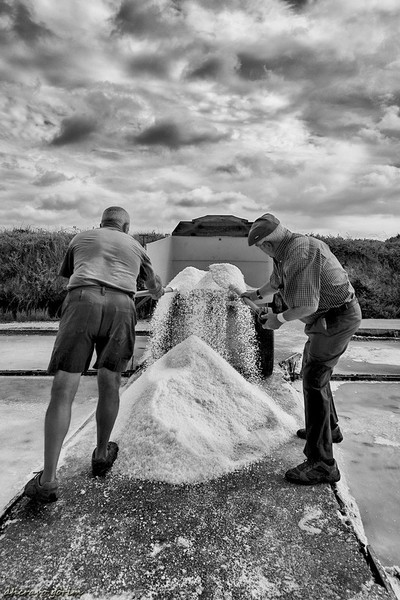 traditional salt workers