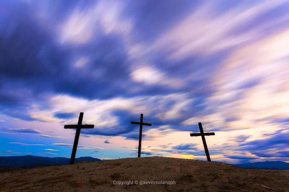 En este desierto se grabó una película de Jesus,