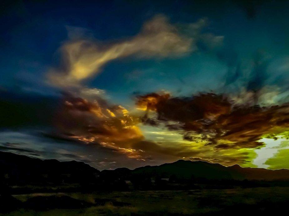 Sierra Vista Arizona.  Sunsets during 2019.