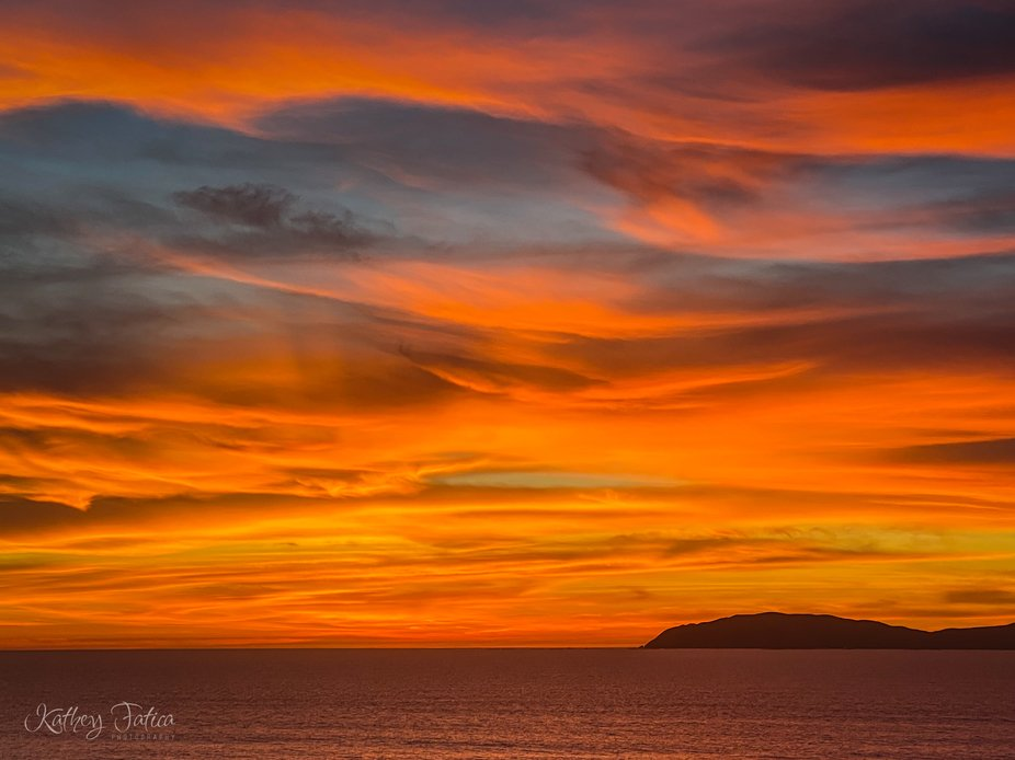Winter in Baja California brings the most amazing sunsets. The island is one of the Coronado Isla...