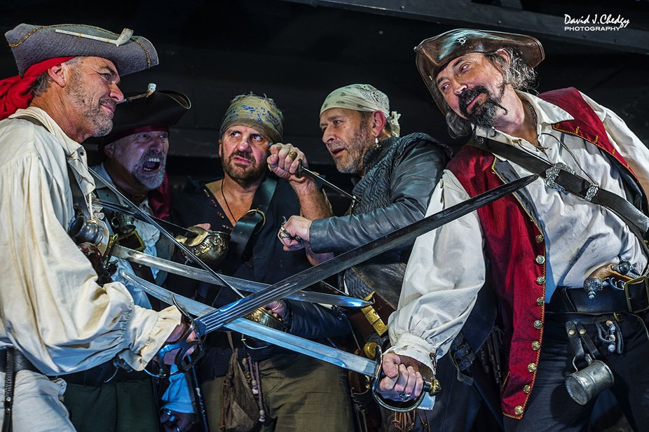 A regular night out at the Jolly Sailer with the Heart of the South West Pirate Crew!