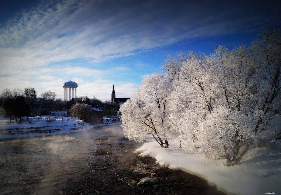 Belleville River winter